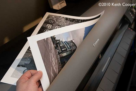 Which side of the paper to print on