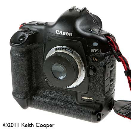 55mm home made lens