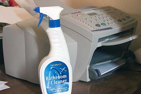 Simple Inkjet printer cleaning
