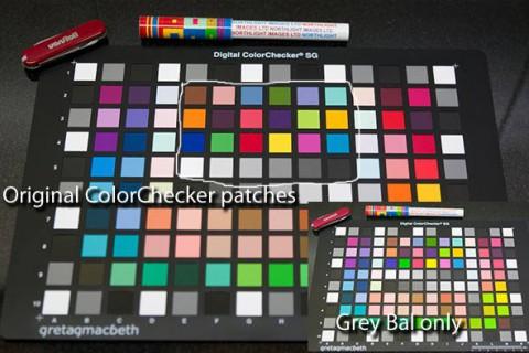 Digital Camera profiling with SG ColorChecker card