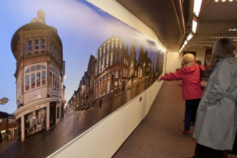 Making a 14 metre photographic print