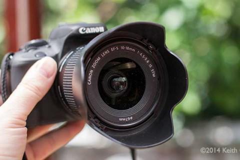 Canon EW-73C lens hood from modifying an EW-73B