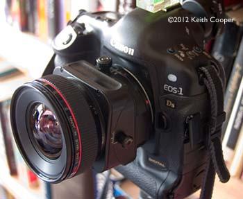 tilt lens up