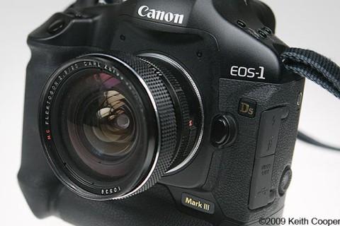 Zeiss Flektogon 20mm f2-8 lens review
