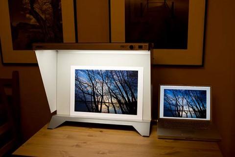 PDV-3e desktop viewing stand review