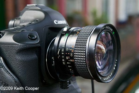 Using 645 MF lenses as shift lenses
