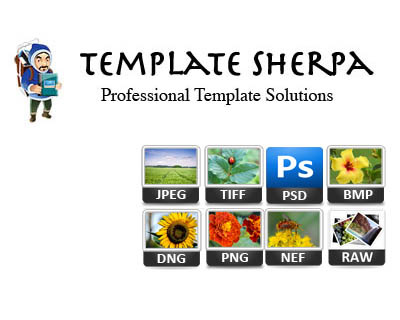 Review - Template Sherpa photo layout software