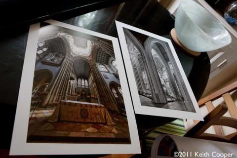 two flat prints