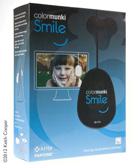 ColorMunki Smile monitor calibrator review - basic monitor