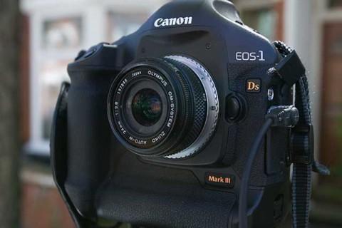 Olympus Zuiko 24mm f2-8 on Canon DSLR