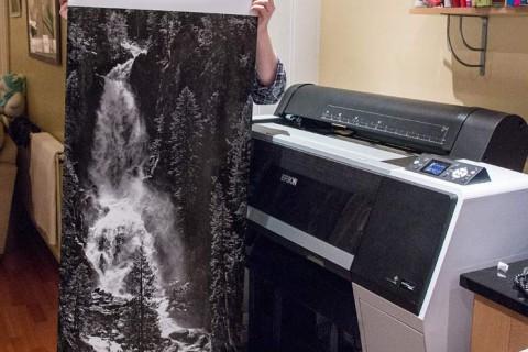 keith and P7000 borderless print