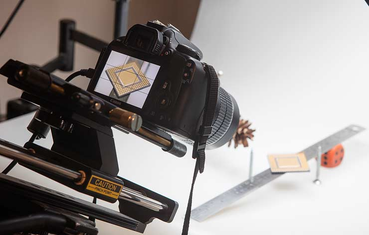 60mm lens setup