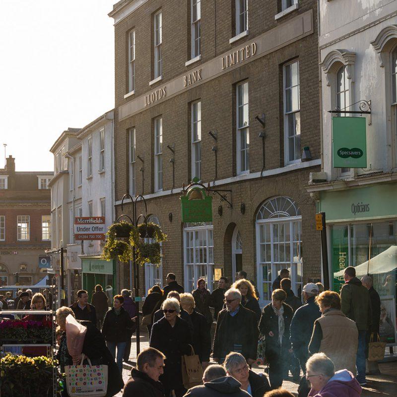 Lloyds bank Bury St Edmunds