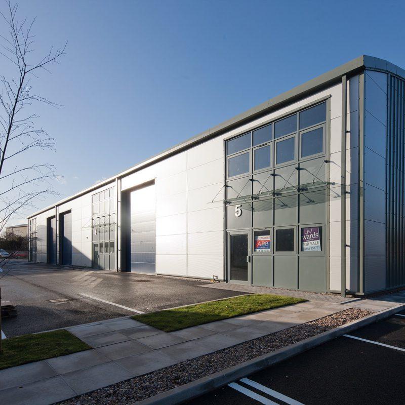 New business park, Hinckley
