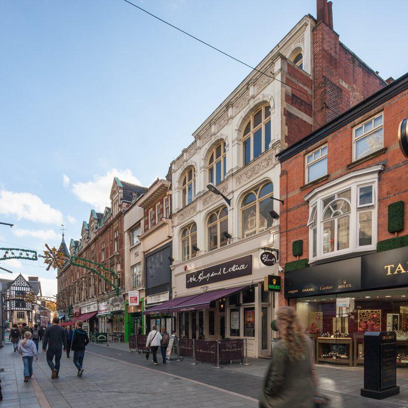 Slug and letuce pub, Leicester