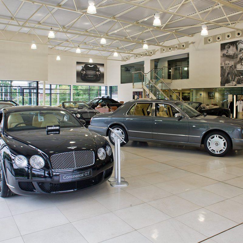Bentley dealership, Cheshire