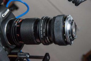 DIY Telecentric macro lenses