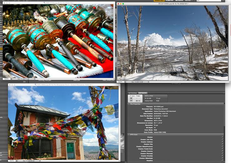 colour sample images