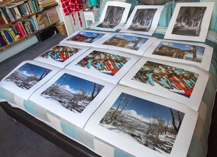 glossy set of prints