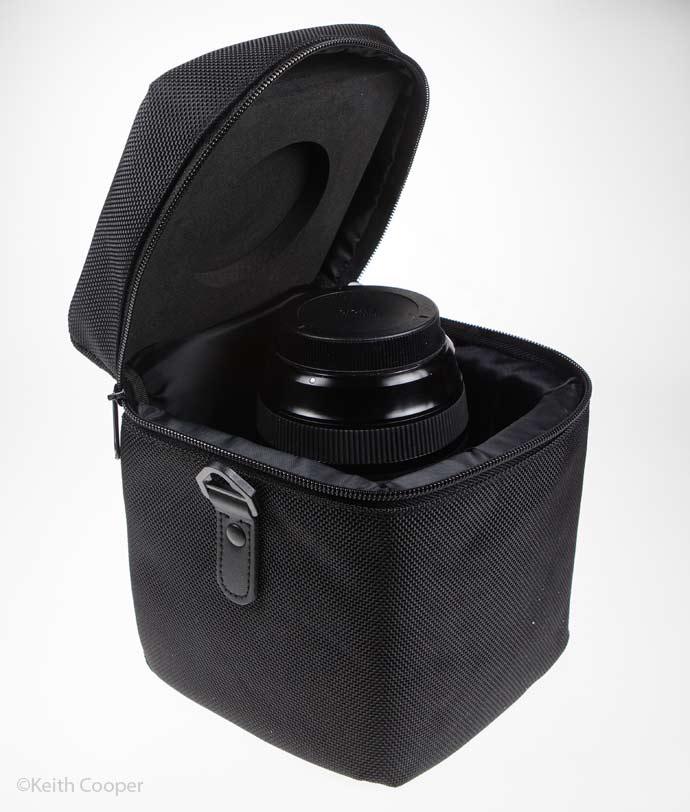 lens in bag
