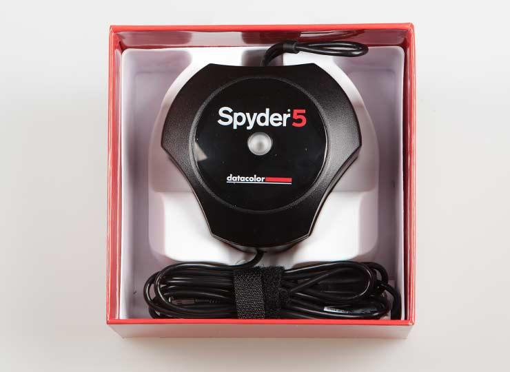 spyder5 in box