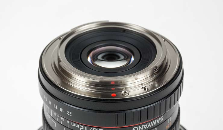 samyang 12mm ef lens mount