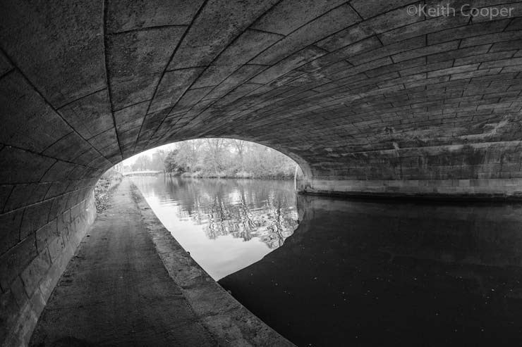 under mill lane bridge