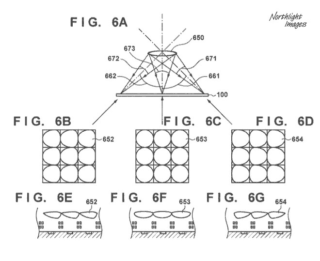 Canon microlens patent
