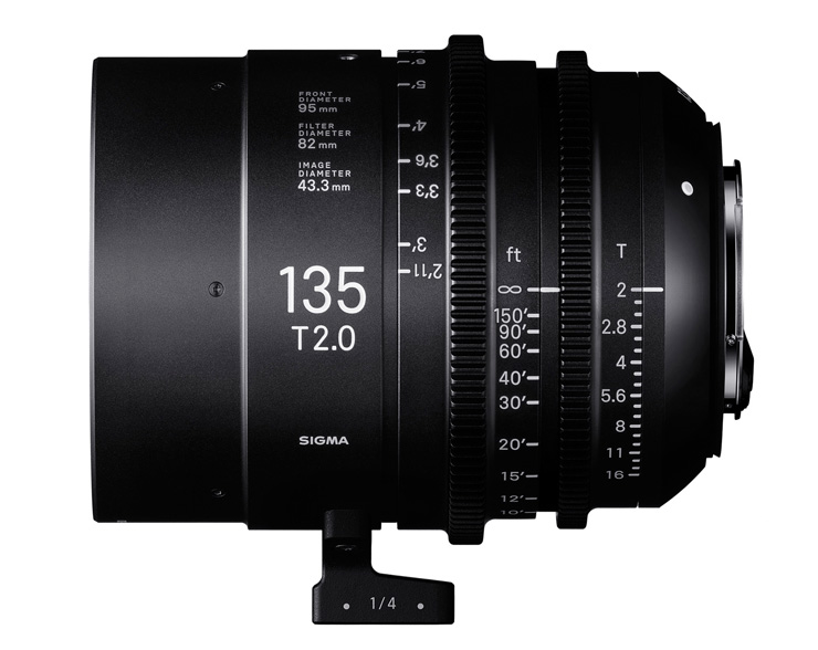 Sigma 135mm T2 FF