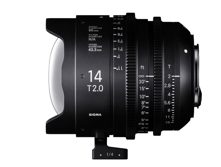 Sigma 14mm T2 FF