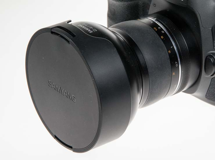 lens cap on 14mm
