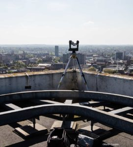 gigapan on roof