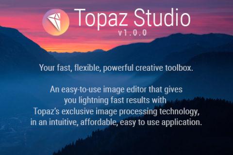 Topaz Studio image editor