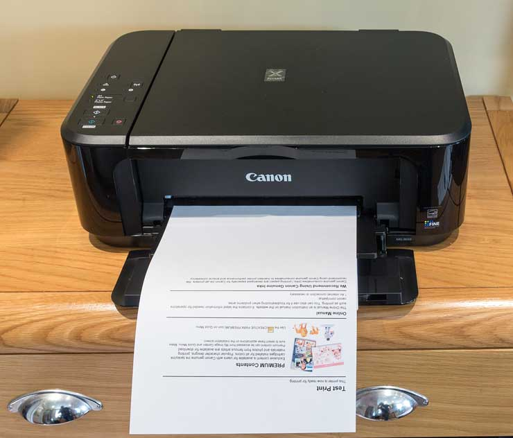 problem printing a5 documents on hp printer