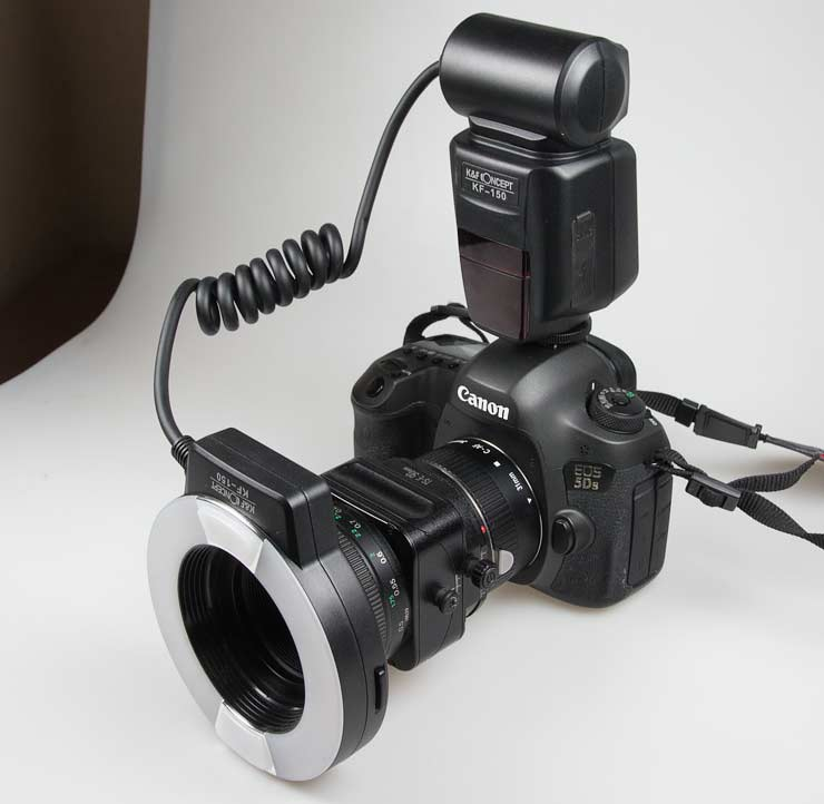 kf-150 ring flash