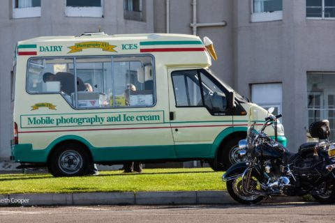 photography and ice cream van