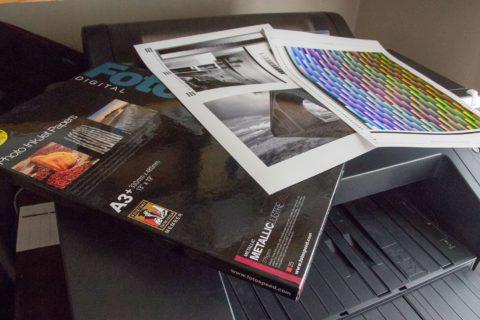 Fotospeed Metallic Lustre paper review