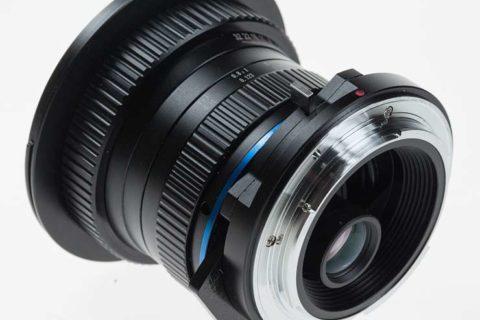 Fixing lens aberrations for shift lenses