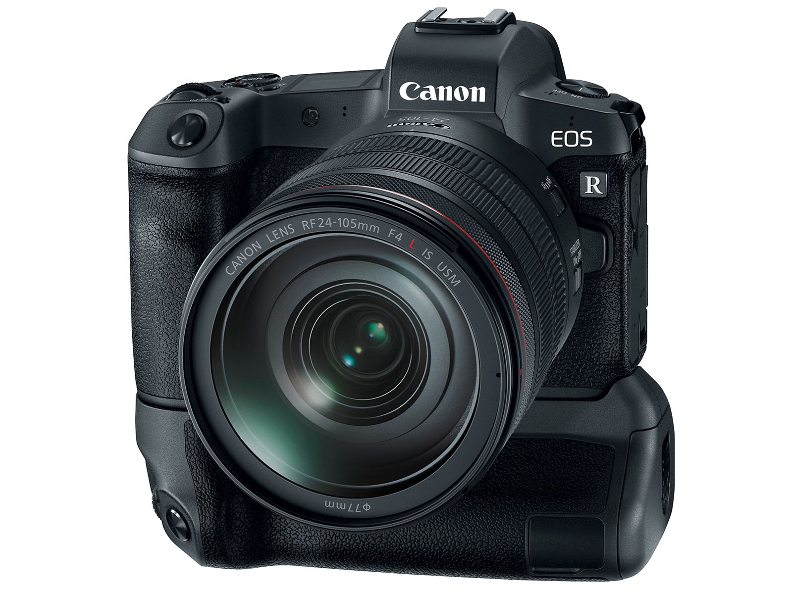EOS R and grip