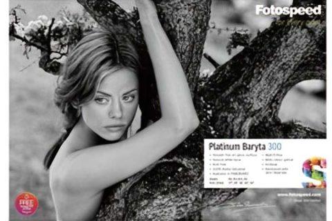 Fotospeed Platinum Baryta 300 paper review