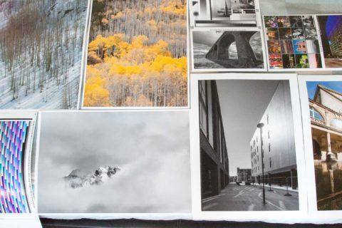 Printing low megapixel images at large size
