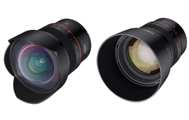 rokinon/samyang 14 and 85rf