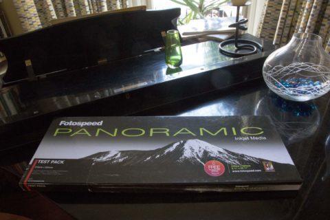 Panoramic printing review using Fotospeed paper