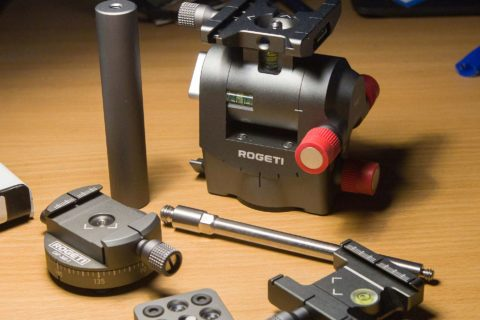 Rogeti RG-1 geared tripod head review