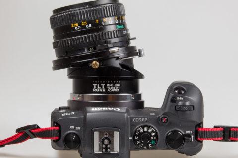 Fotodiox tilt-shift lens adapter