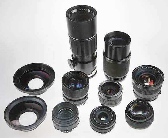 assorted-old-lenses