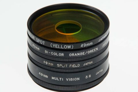 Using effects lens filters