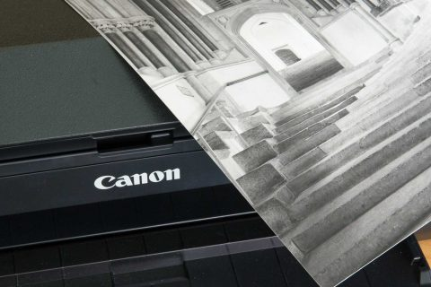 Black and white printing with the PRO-300