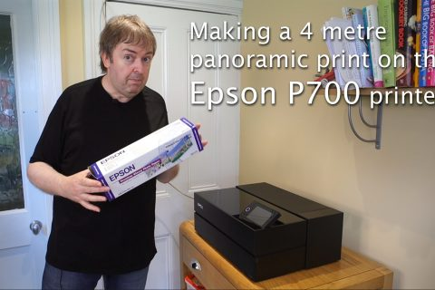 Video: Making a 3.9 metre print on the P700