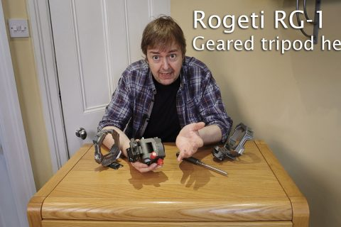 Video: looking at the Rogeti RG-1 tripod head